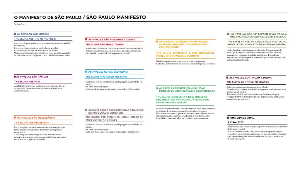 manifesto São Paulo Calling Guide pdf