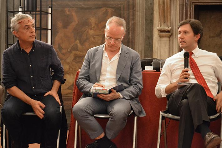 Stefano Boeri, Hans Ulrich Obrist, Dario Nardella